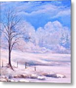 Warm Cold Day Metal Print