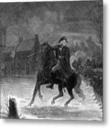 Washington At The Battle Of Trenton Metal Print