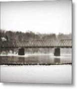 Washingtons Crossing Bridge Metal Print