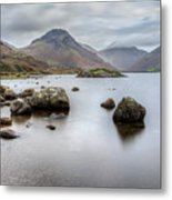 Wastwater Long Exposure Metal Print
