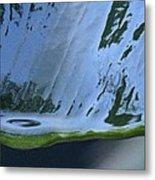 Water Drop Forming Metal Print