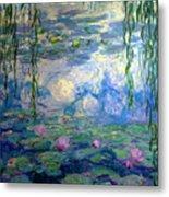 Water Lilies, Nympheas, By Claude Monet,  Musee Marmottan Monet, Metal Print