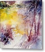 Watercolor 040908 Metal Print