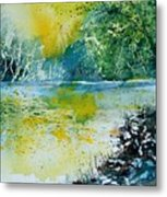 Watercolor  051108 Metal Print
