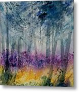 Watercolor  130608 Metal Print