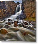 Waterfall Canyon Metal Print