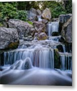 Waterfall Metal Print by Ivelin Donchev