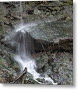 Waterfall Stream Metal Print