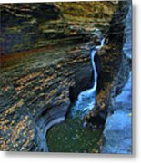 Watkins Glen Gorge Metal Print