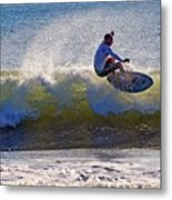 Wave Action  Metal Print