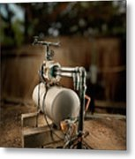 Well Pump Metal Print