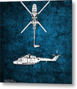 Westland Lynx Metal Print