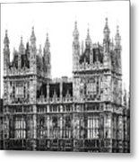 Westminster - London Metal Print