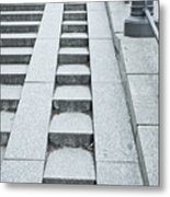 Wheelchair Ramp Metal Print