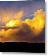 When God Picks Up A Paintbrush... Metal Print
