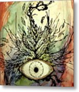 When I Thought Of You My Mind Soared Metal Print