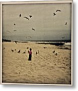 When Promises Were For Keeps Metal Print