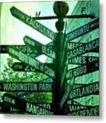 Where To Go Metal Print by Cathie Tyler