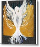 White Dove  Metal Print