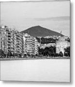White Tower Of Thessaloniki Metal Print
