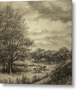 Wickliffe Landscape  Metal Print