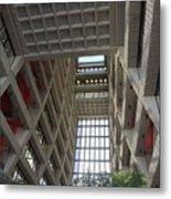 Wilson Hall At Fermilab - Interior Metal Print