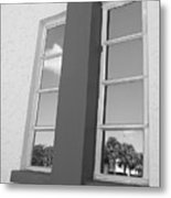 Window T Glass Metal Print