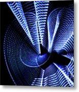 Window Waves Metal Print