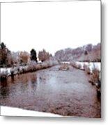 Winter In England  Metal Print
