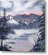 Winter In Three Colors Metal Print