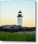 Winter Island Lighthouse, Salem Ma Metal Print