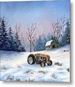 Winter Rest Metal Print