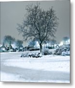 Winter Metal Print by Svetlana Sewell