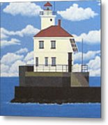 Wisconsin Point Lighthouse Metal Print