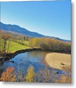 With A View  Metal Print