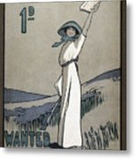 Womens Rights Metal Print