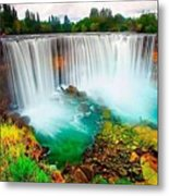 Wonderful Places In The World Metal Print