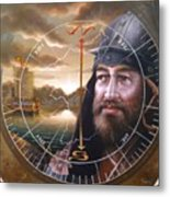 World Unification Gold Or Sea Captain Metal Print