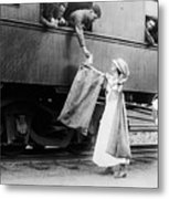 World War I: Red Cross Metal Print