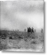 World War Two Battle By John Springfield Metal Print
