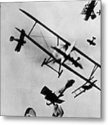 Wwi: Dogfight Metal Print