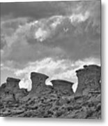 Wyoming Landscape Metal Print