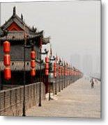 Xian Lanterns Metal Print