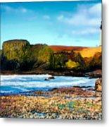 Yaquina Bay Lighthouse II Metal Print