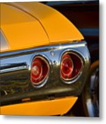 Yellow Chevy Metal Print