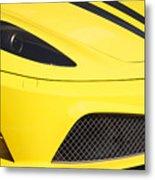 Yellow Stradale Metal Print