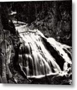 Yellowstone's Gibbon Falls Metal Print