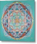 Yogi By The Sea Metal Print