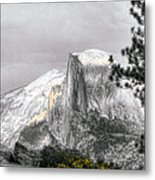 Yosemite Half Dome Metal Print