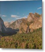 Yosemite Valley View Metal Print